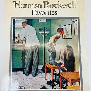 Rockwell Favorites Book 50 Large Poster Size